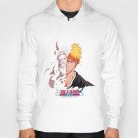 bleach Hoodies featuring Bleach poster by Tremblax1