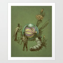 It Fell From The Sky  Art Print