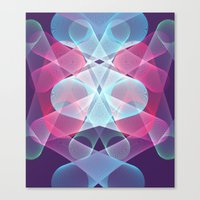 psychedelic Canvas Prints featuring Psychedelic by Scar Design