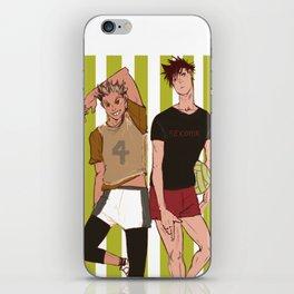 bokuro iPhone Skin