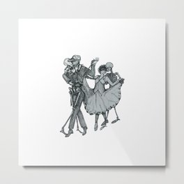 Couples Metal Print