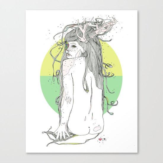 colour blind V Canvas Print
