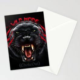 Wild Mode. Bjj, Mma, grappling Stationery Cards