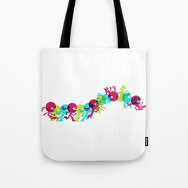 ninja moves Tote Bag