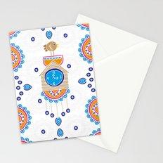 Evil Eye Cuckoo Clock Stationery Cards