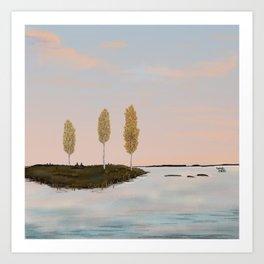 Autumn colors - Lapland8Seasons Art Print