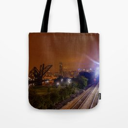 Chicago and the tracks Tote Bag