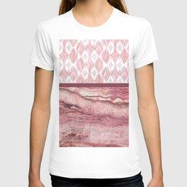 Mystic Stone Blush Harlequin Mix T-shirt
