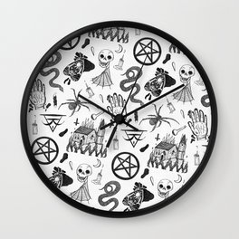 Well Maybe Its Witchcraft Wall Clock
