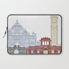 Ahmedabad skyline poster Laptop Sleeve