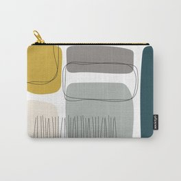 Abstract Shapes 01 Carry-All Pouch