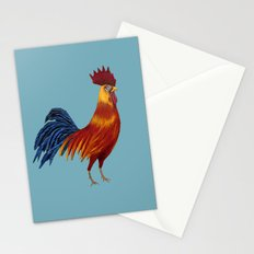 Rooster-3 Stationery Cards
