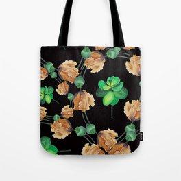 Old Garden Pattern Tote Bag