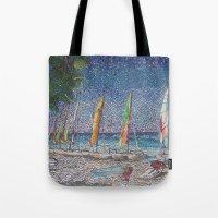 cuba Tote Bags featuring Cuba by Juliana Kroscen