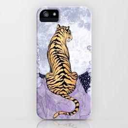 Tiger Moon   Colour Version iPhone Case