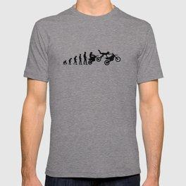 Motocross Dirtbike Evolution T-shirt