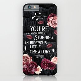 From Blood and Ash iPhone Case