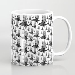 Flock of Starlings / Murmuration Coffee Mug