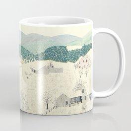 Anna Mary Robertson 'Grandma' Moses To Grandma's House We Go on Thanksgiving Day Folk Art Coffee Mug