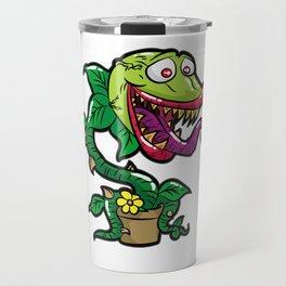 HAPPY VENUS FLYTRAP carnivorous plant funny gift Travel Mug