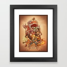 Final Fantasy IX Framed Art Print
