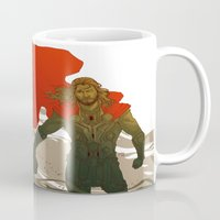 thor Mugs featuring Thor by Pulvis