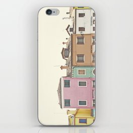 Colored Houses iPhone Skin