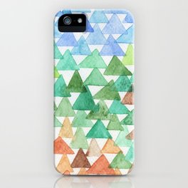 Forest of Tris iPhone Case