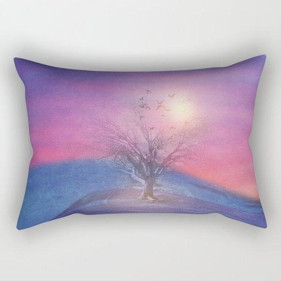 Lone Tree Love III Rectangular Pillow