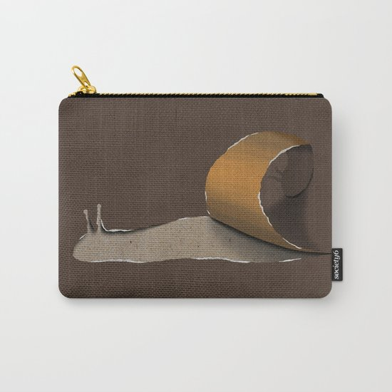 snail brown Carry-All Pouch