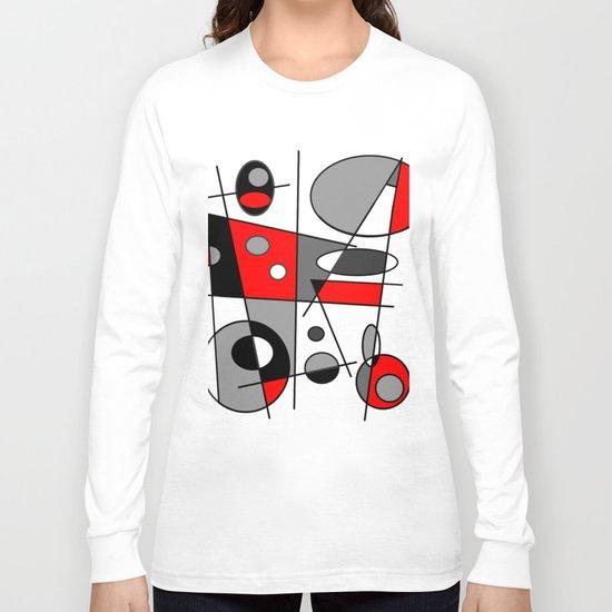 Abstract #35 Long Sleeve T-shirt