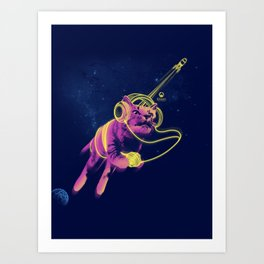If There's A Rocket (Updated) Art Print