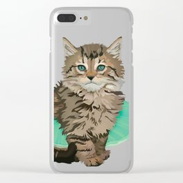 Glamourpuss Clear iPhone Case