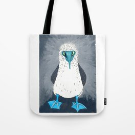 Blue Footed Booby Art Print Tote Bag