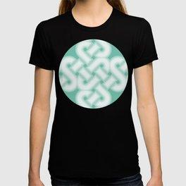 Green Celtic Knot Pattern T-shirt