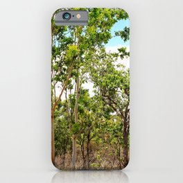 Beautiful forest regrowth iPhone Case