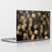 bokeh Laptop & iPad Skins featuring Bokeh by Christine VanFonda