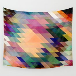 Triangles And Parallelograms Wall Tapestry