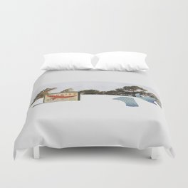 Strike Anywhere Duvet Cover