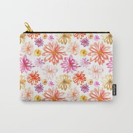 Painted Floral I Carry-All Pouch