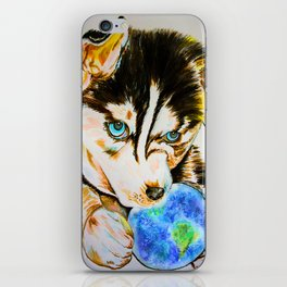 Arien - The Dreaming Husky iPhone Skin