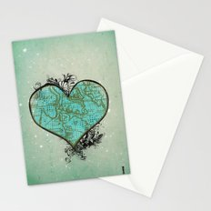 Heart #3 Stationery Cards