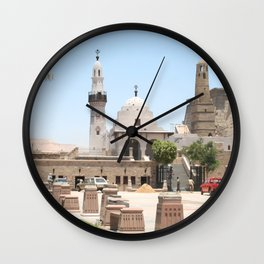 Temple of Luxor, no. 15 Wall Clock
