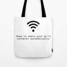 wi-fi Tote Bag