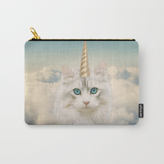 Unicorn Cat Sky Carry-All Pouch