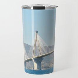 Rio Antirrio Bridge Travel Mug