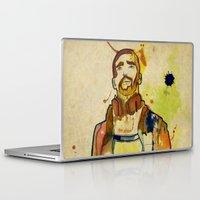 mario Laptop & iPad Skins featuring Portraits, Mario by Cayena Blanca