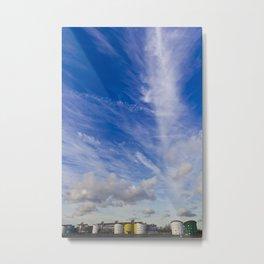 Dramatic sky London Metal Print
