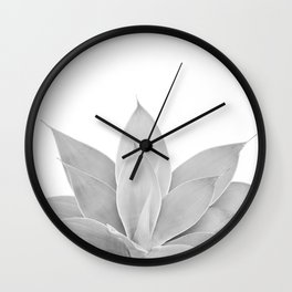 Gray Agave #1 #tropical #decor #art #society6 Wall Clock