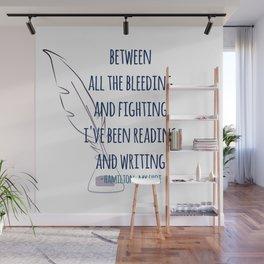 READING AND WRITING | HAMILTON Wall Mural
